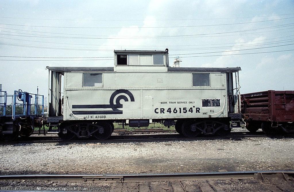 CR Caboose 46154R