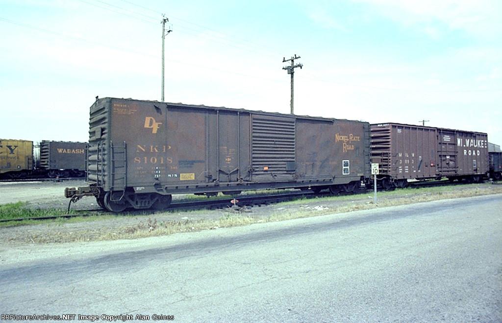NKP Box Car 81018