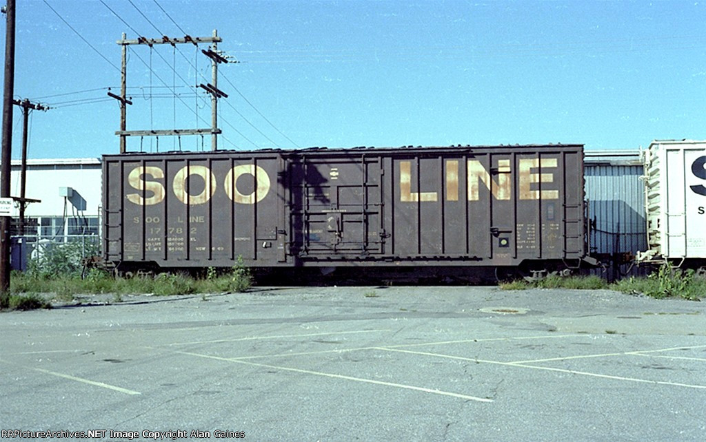 SOO LINE Box Car 17782