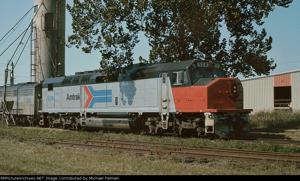 Amtrak SDP40F 529