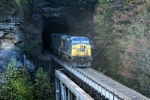 north bound pushers head into pool point tunnel