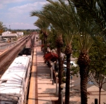 Metrolink Departing Fullerton with a Clear