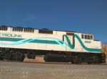 Metrolink 860 in their new paint scheme!