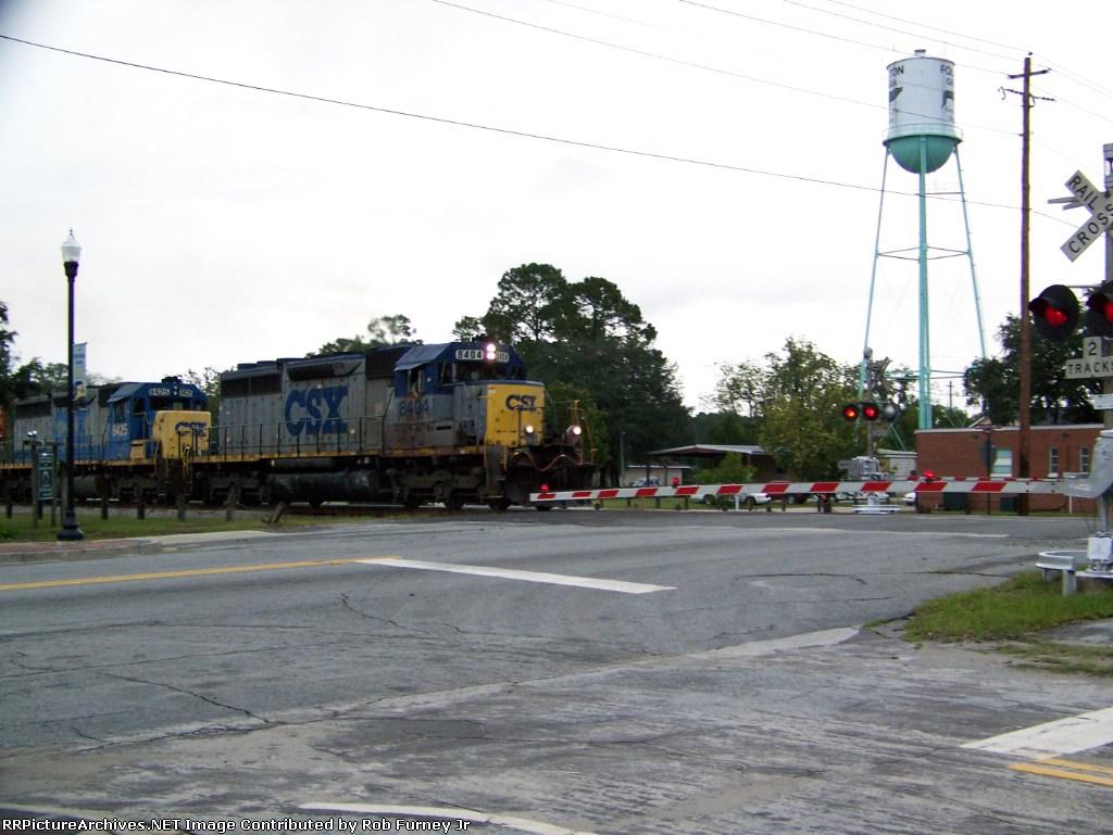 Last train in daylight