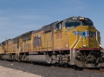 UP 5193 leads an EB doublestack KCIAT (City of Industry CA - Atlanta) at 12:22pm