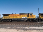 UP 9208 #3 power in an EB manifest MTUFW (Tucson-Ft Worth) at 11:58am out of Alfalfa yard
