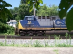 CSXT 52 from the shade