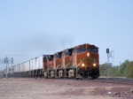 Quartet of BNSF C44-9Ws