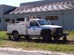 CSX inspector truck