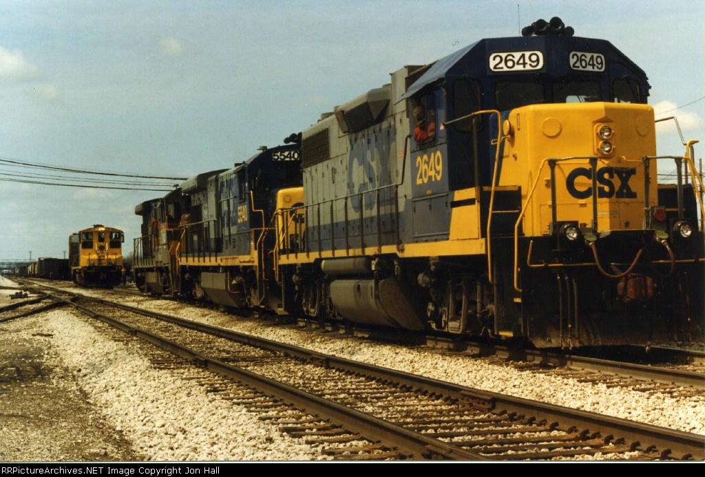 CSX 2649 & 5540
