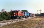 CP 777 leading 5 EMDX units