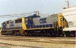 CSX 1162 & 8540