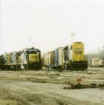 CSX 6398, 6143 & 5516