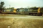 CSX 152 & 602