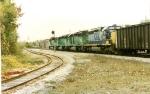 CSX 8192 trailing BN 7840, 7290 & 5021