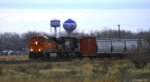 BNSF 7794 (ES44DC) leaving town