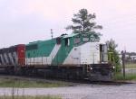 """TBRX 703 displays its """"Tri-Rail"""" markings"""
