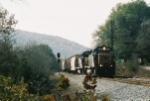 CSX Grain Train
