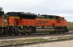 BNSF 9336 DPU on SB coal