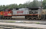 BNSF 4706 on SB freight