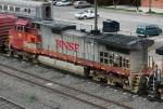 BNSF 741 on SB freight