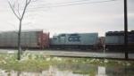 CSX 2244, Radnor Yard