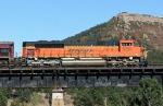 BNSF 9330 on the ATSF bridge