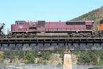 CEFX 138 on a SB coal train