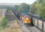 SB coal train 