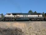 BNSF 9817 on a SB coal train