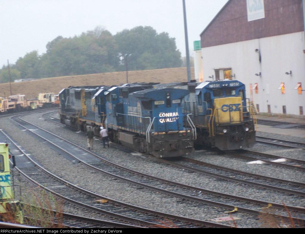 CSX 7302 (Conrail Quality)
