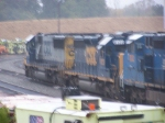 CSX 8319 in terrible conditions for photography