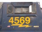 CSX 4569 cabside
