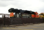 Wrecked BNSF 2318