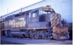 DRGW GP40-2 3100