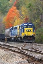 CSXT GP40-2 4417