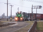HESR 5492 & CMGN 8903 Leading Today's Train Into Durand
