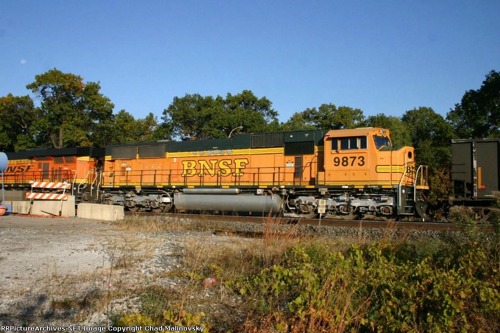 BNSF 9873