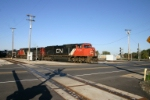 CN 5732 comes off the J