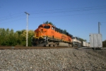 BNSF 5830 on FEPX hoppers
