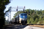 Amtrak 80 flies by the old SAL signals