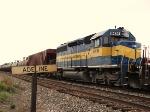 ICE SD40-2 6436 in sdg at Adeline ILL