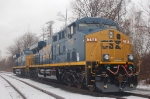 CSX 754 and 755