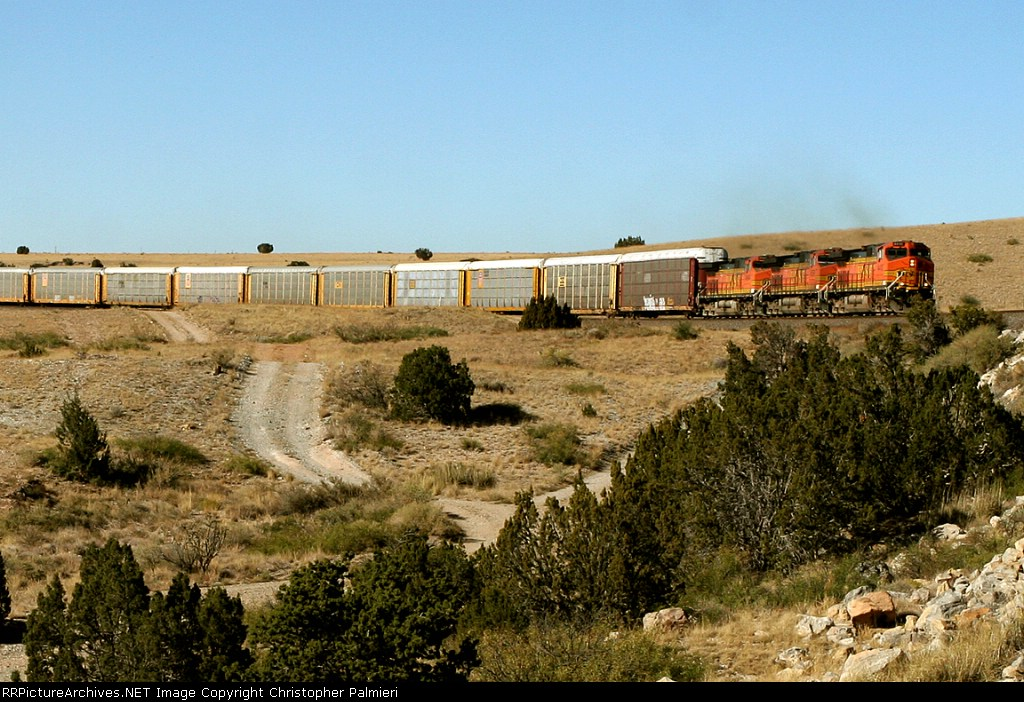 BNSF 4410, 4556, and 4944