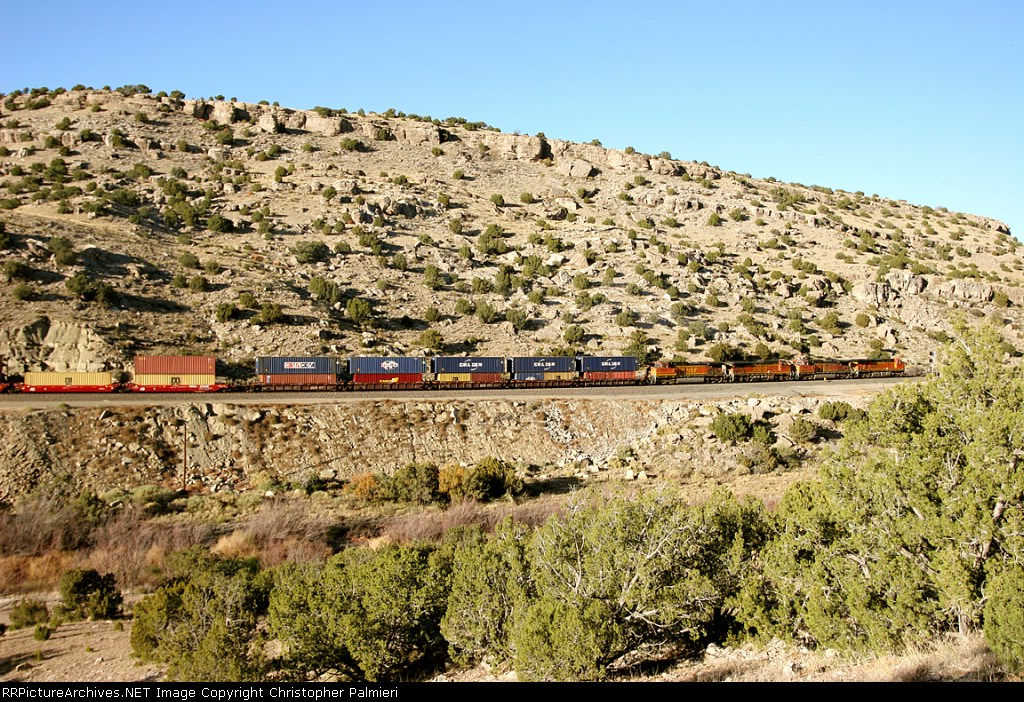 BNSF 5774, 4594, 861, and 4826