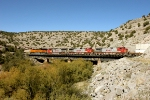 BNSF 7537, 778, 707, and 720