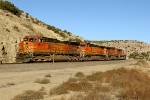 BNSF 4526, 5205, 4986, and 4407