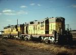 UP Geeps @ North Platte Ne. 1967