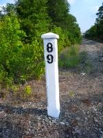 Milepost OOT 89