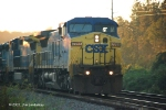 Q579 leaves Flomaton AL on the M&M at Miles